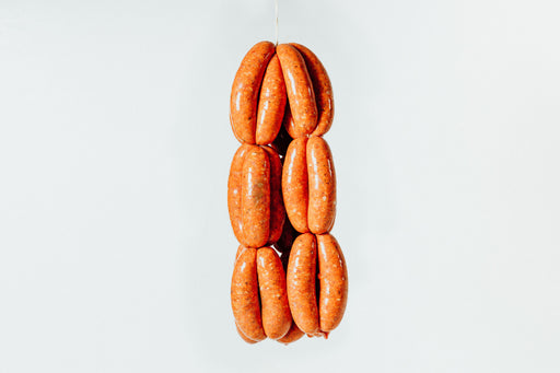 Lamb merguez sausages