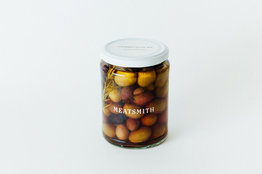 Gourmet olive mix