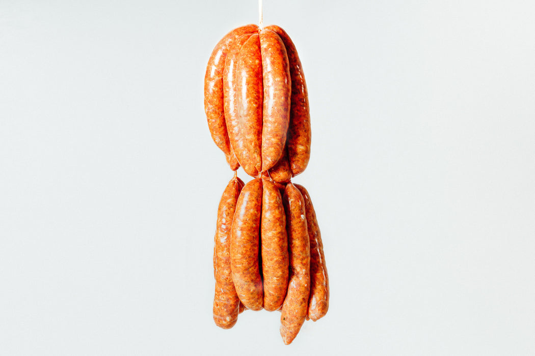Pork, fennel & fermented chilli sausages, 4PC