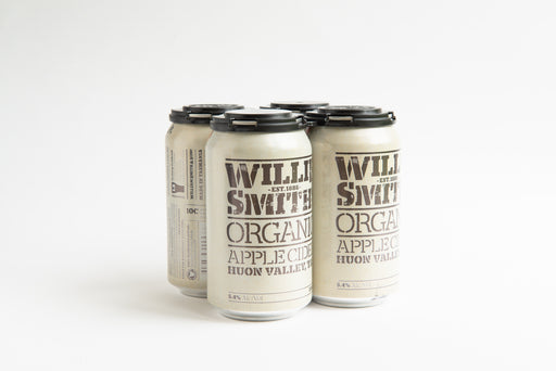 Willie Smith's Organic Apple Cider 4PACK