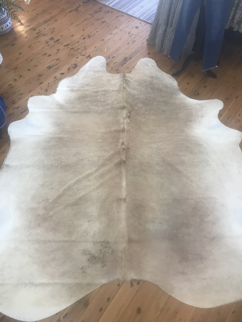 Light Exotic Cow Hide