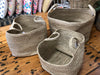 Jute basket medium
