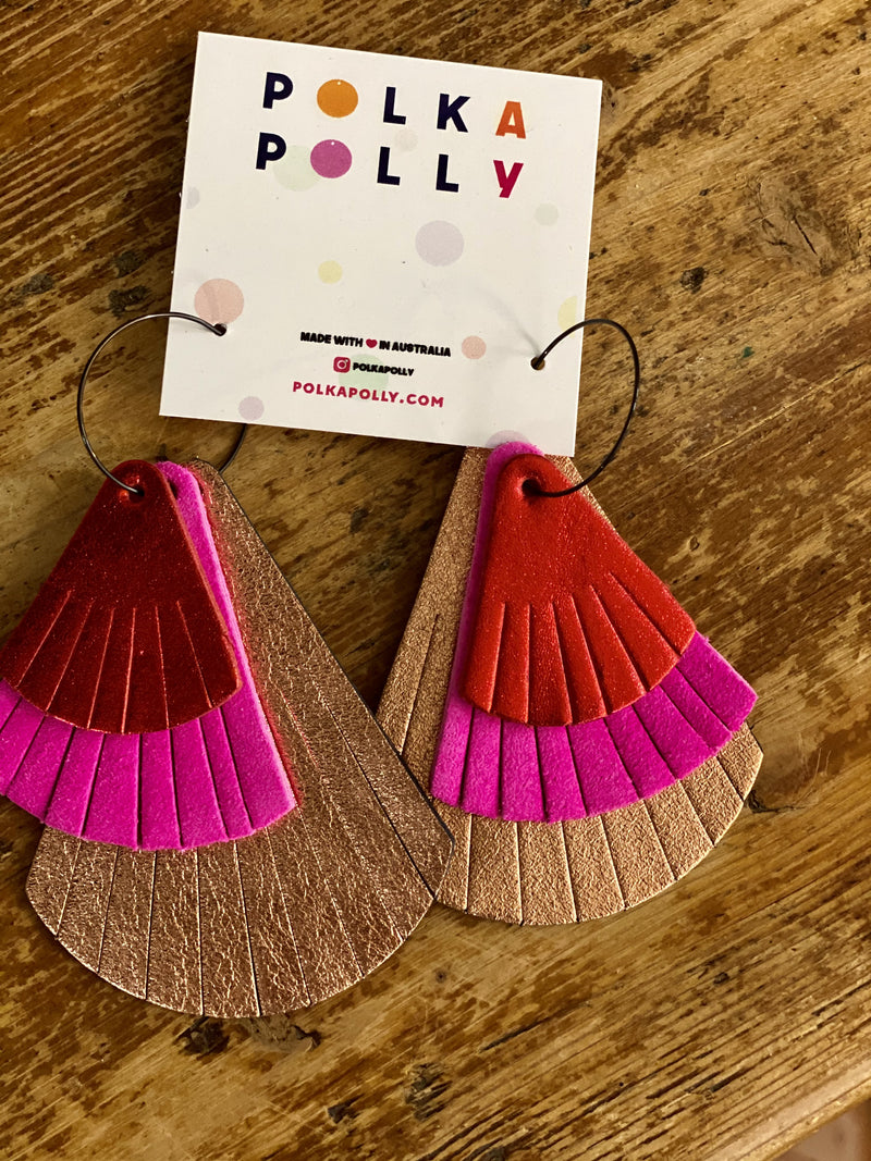 Polka Polly Earrings