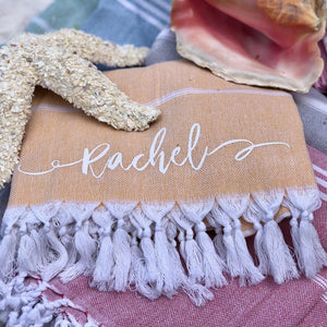 Personalized Turkish Towel