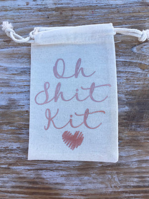 Oh Shit kits, Rose Gold hangover kits, Birthday, recovery kits, bachelorette party, welcome bag, bachelor party, personalized