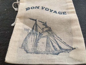 10 beach wedding favor bags, cruise ship wedding favor bags, bon voyage favor bags, welcome bags, destination wedding favor