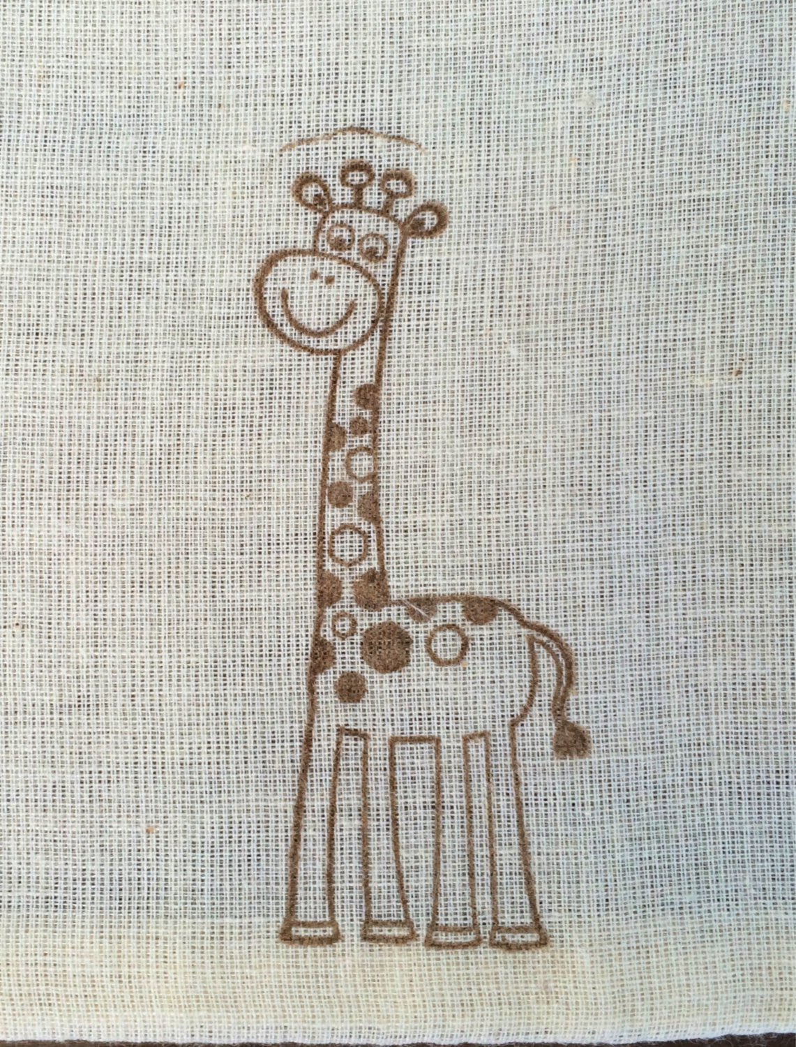 Giraffe favor bags, childrens party favor bags, baby shower favors, personalized favor bags