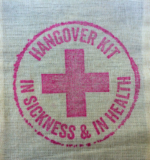 15 hangover kits, hangover bags, wedding welcome bag favors, wedding hangover kits, recovery kit, survival kits