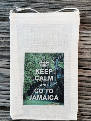 10 Jamaican wedding favor bags, Jamaica favor bag, beach wedding, jamaica wedding favor, wedding favor bag, destination wedding favor