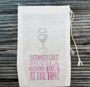 10 seemed like such a good idea at the time Hangover Kits, First Aid Kit, Destination wedding welcome bag, wine hangover kits,bachelorette