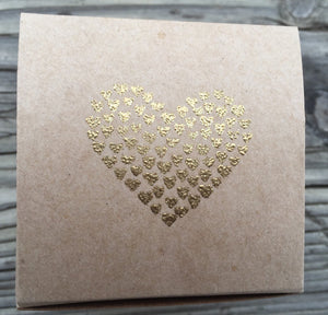 10 Embossed wedding favor boxes, Valentines cupcake boxes, treat boxes, small gift boxes, cookie boxes, baked good boxes,