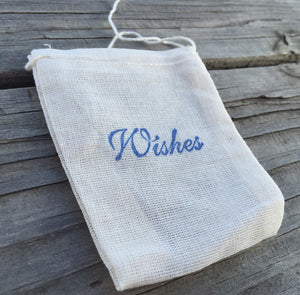 10 Wishes favor bags, wedding favor bags, birthday party favor bags, fairytale favor bags