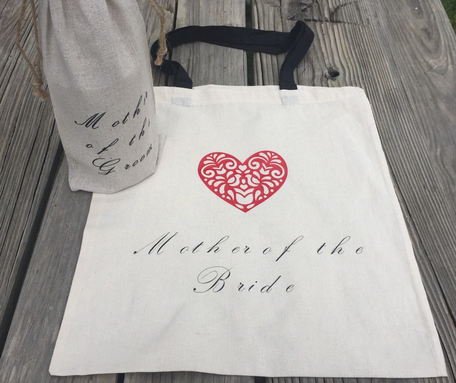 Mother of the Bride tote, mother of the groom, custom tote, personalized tote bag, Mother of the Bride gift