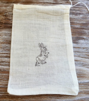 10 Peter Rabbit favor bags, baby shower favor bags, childrens birthday party favors