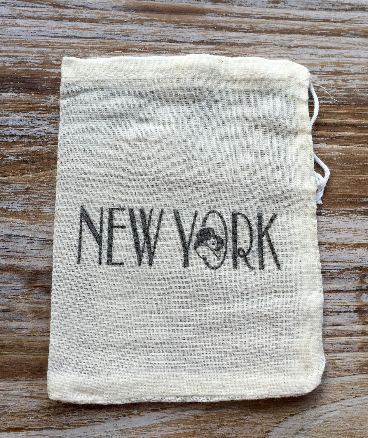 10 New York favor bags, Broadway favor bags, New York themed parrty, New York wedding