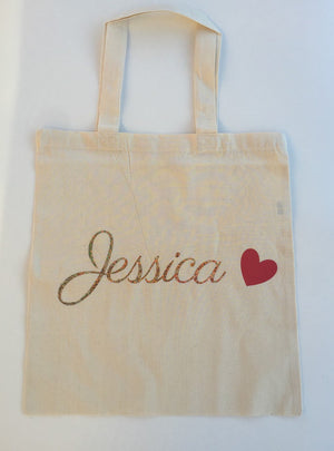 Personalized gold tote bag, Bridesmaid tote, tote bag with name, gold bridesmaid tote, welcome bags, welcome tote bags, destination wedding
