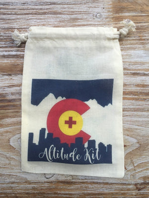 10 Colorado Altitude Kit bags, Rocky mountain recovery kit, Rocky mountain high, Colorado hangover kit, Colorado wedding