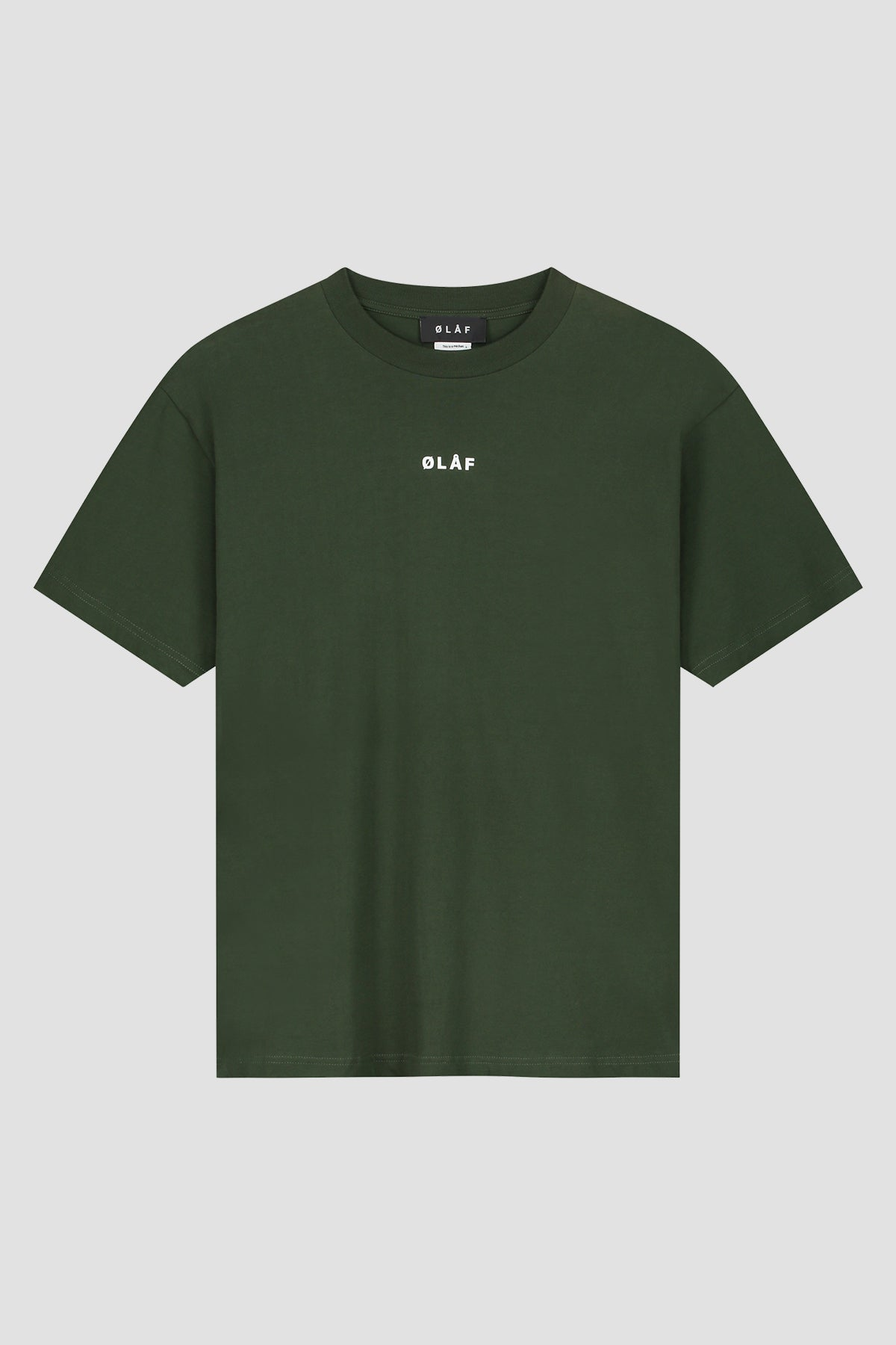 ØLÅF Block Tee - Dark Forest