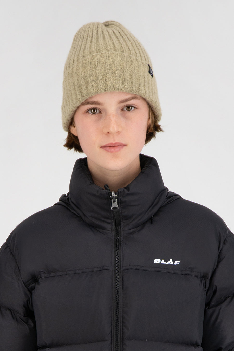 ØLÅF Beanie <br>Light Brown