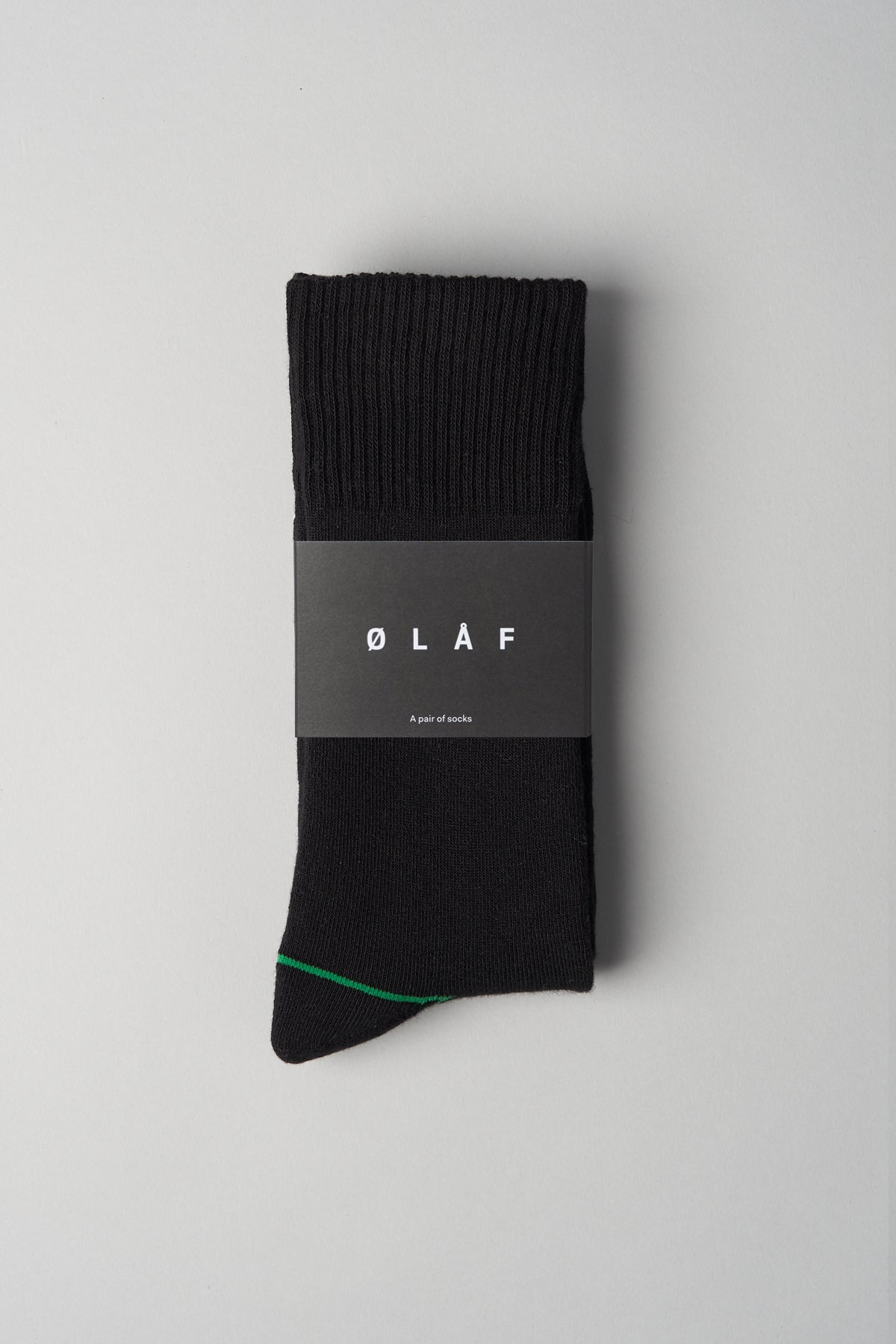 ØLÅF Socks <br>Black