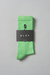 ØLÅF Italic Socks <br>Green / Black