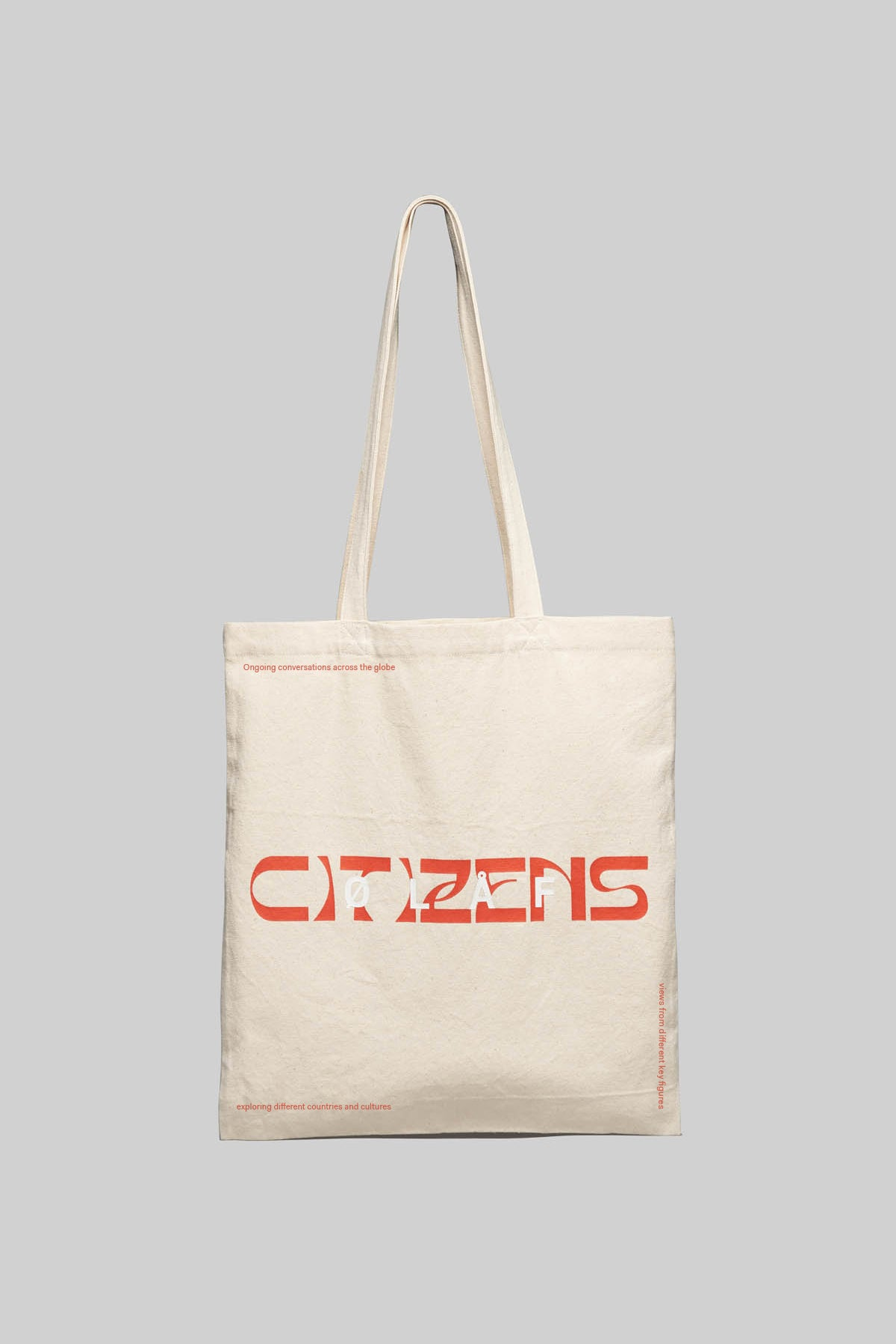 ØLÅF Citizens Tote Bag - Beige