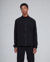 Nylon Track JKT <br>Black