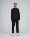 Nylon Track Pants Black