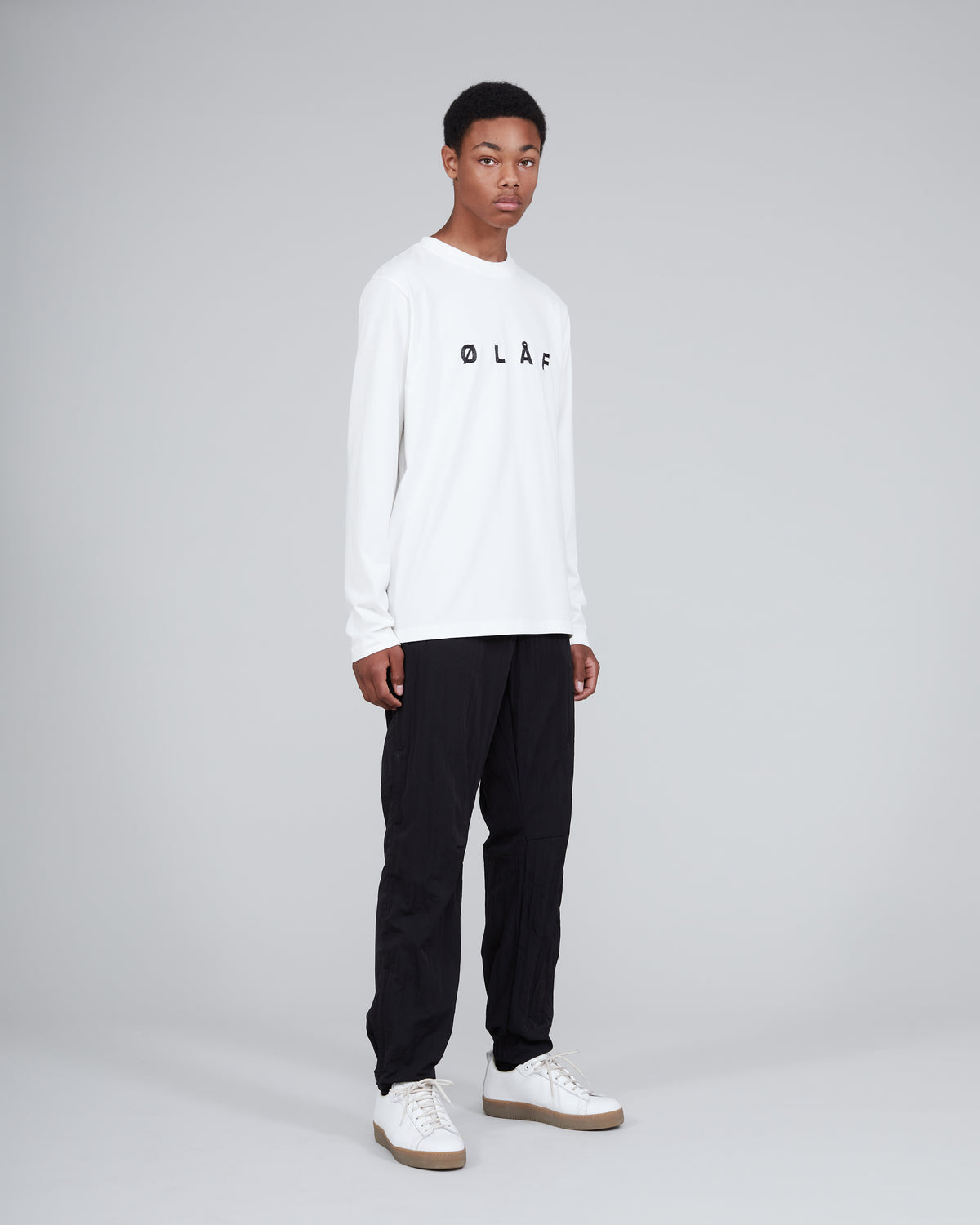 ØLÅF Sans Long Sleeve <br>White