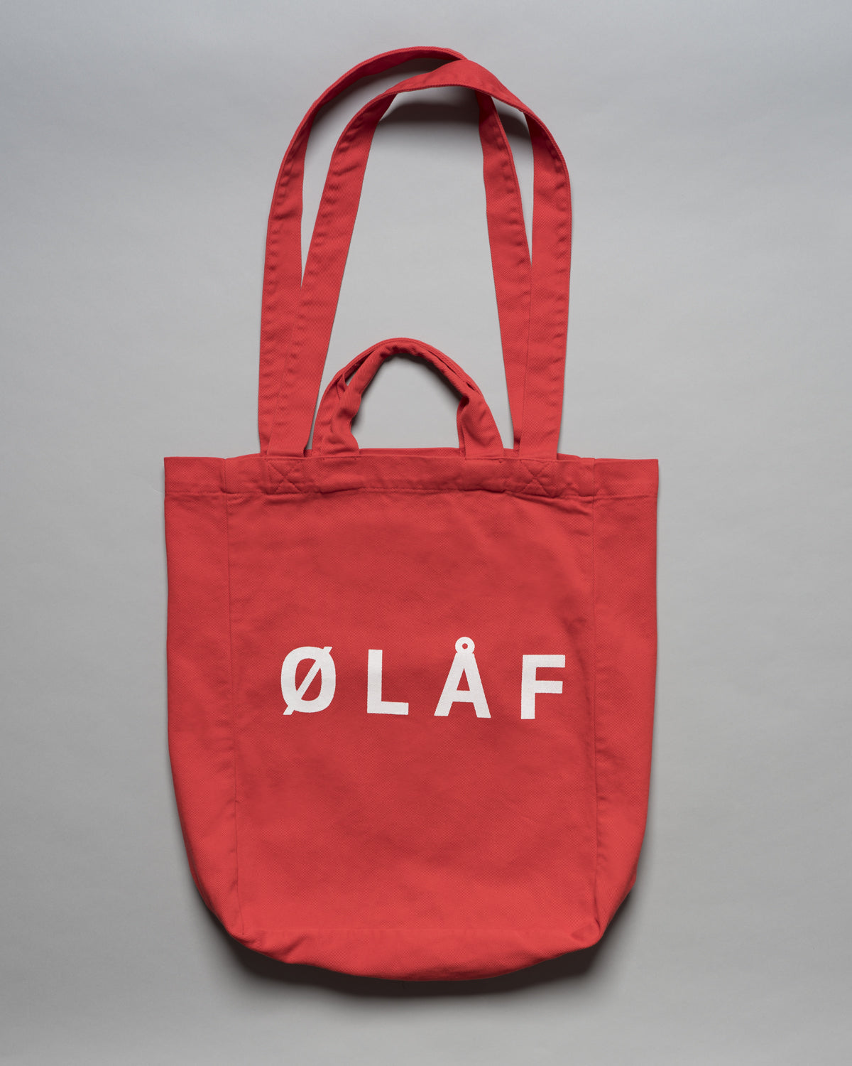 ØLÅF Tote Bag Red