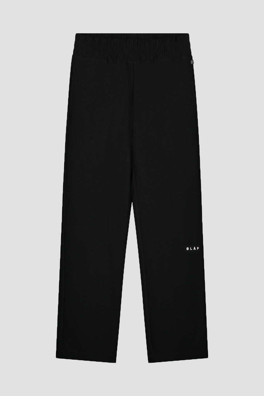 ØLÅF Elasticated Trouser - Black