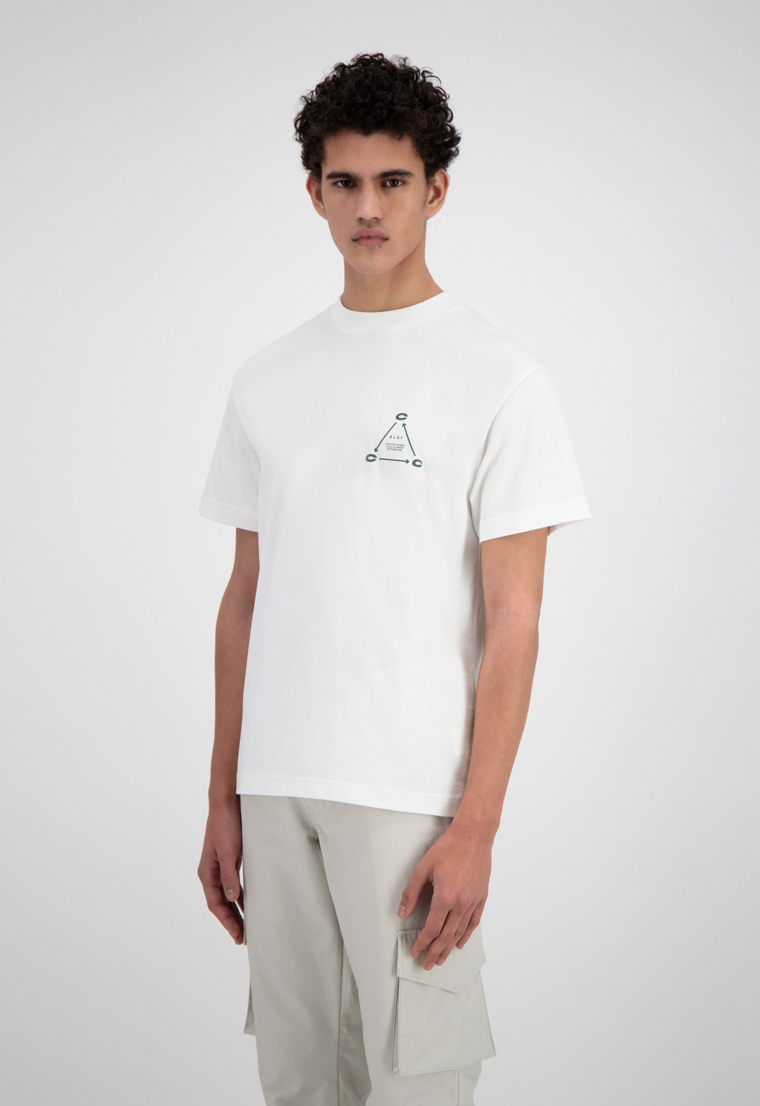 ØLÅF CCC Cycle T <br>White