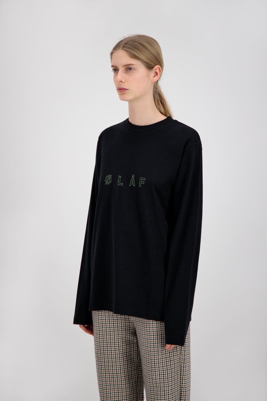 ØLÅF Stems LS Tee <br>Black