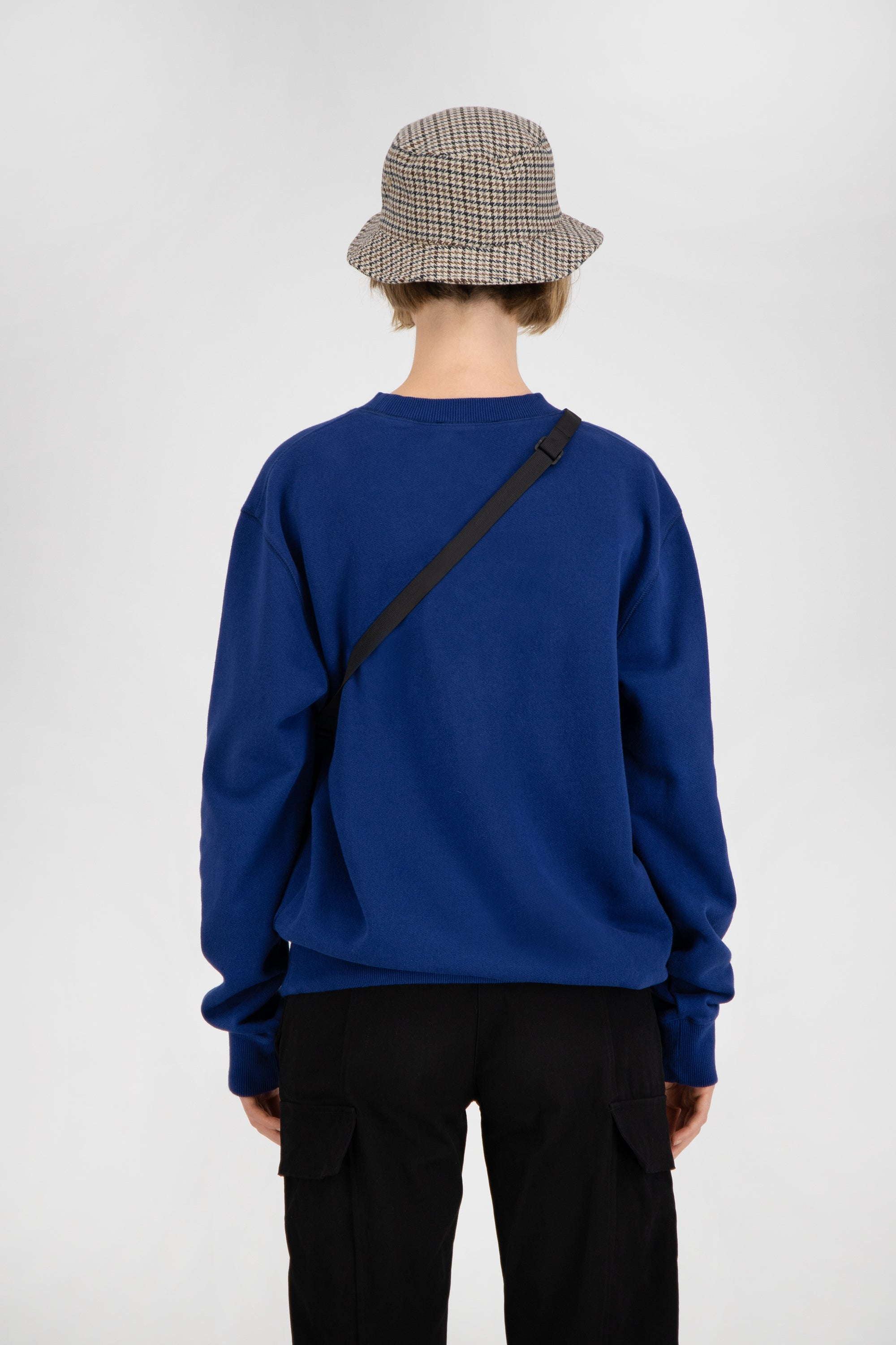 ØLÅF Face Crewneck <br>Royal Blue