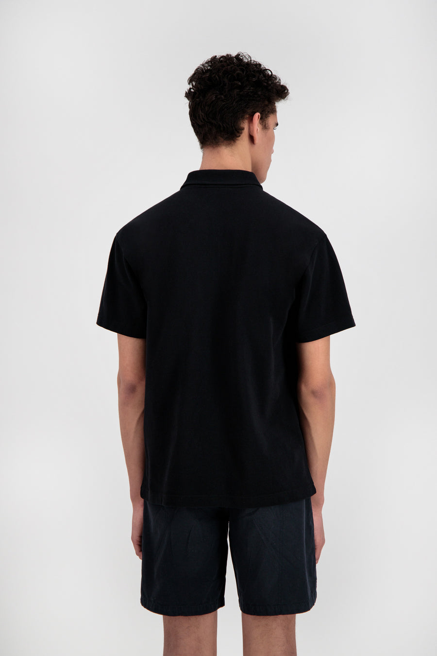 ØLÅF Zip Polo <br>Black
