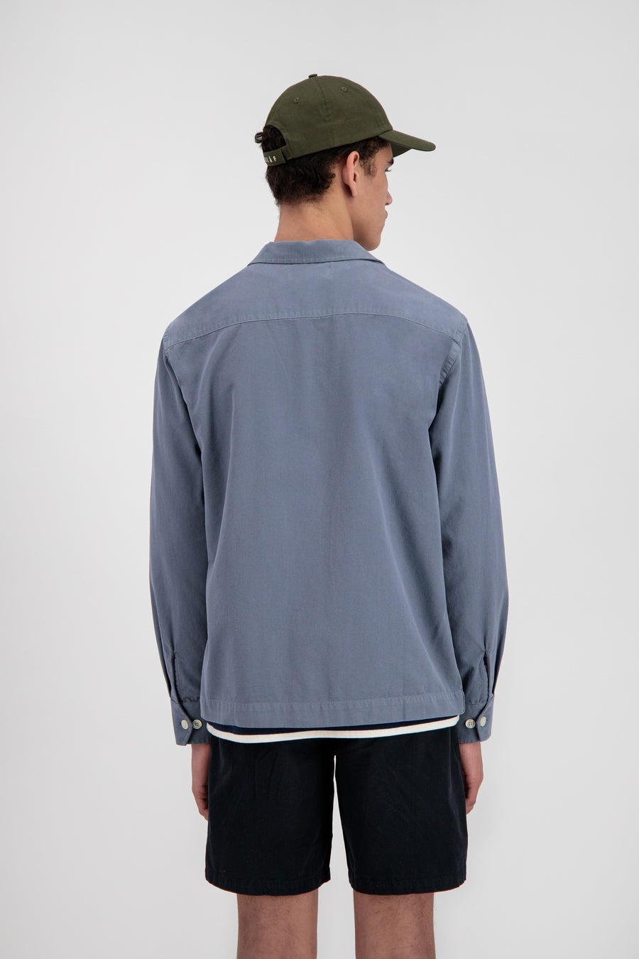 ØLÅF Overshirt <br>Steel Grey