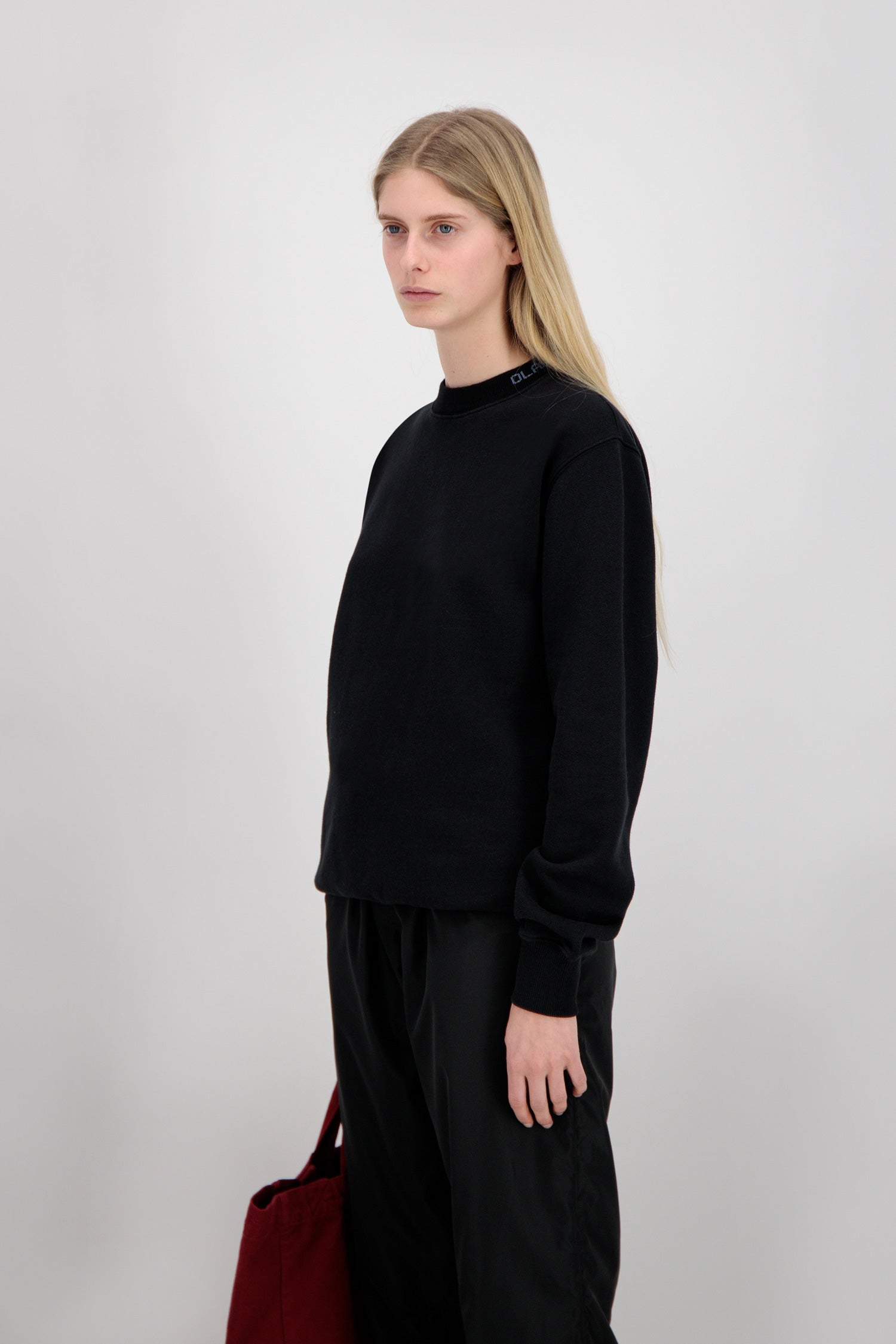 ØLÅF Crewneck <br>Black/Navy