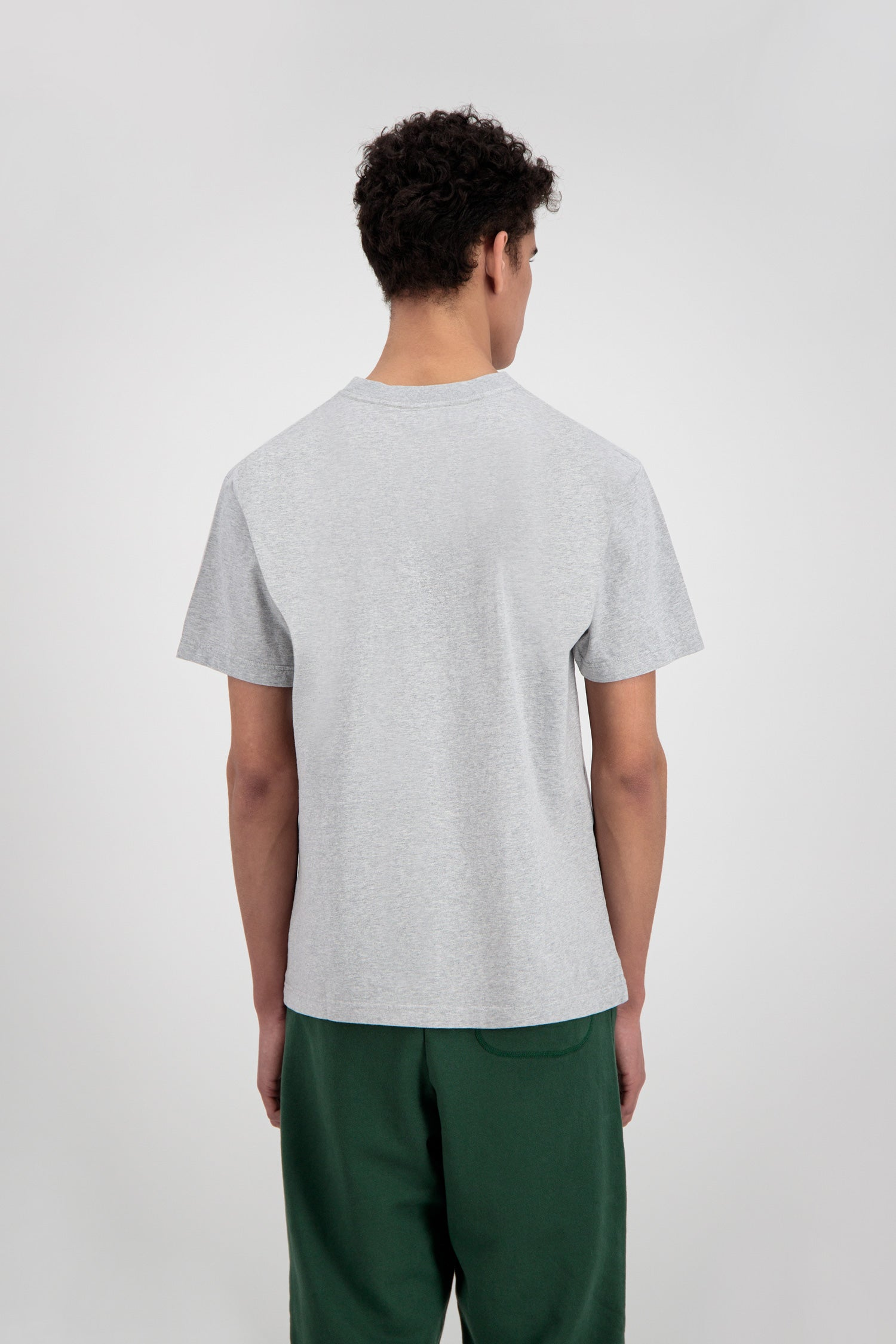ØLÅF Italic Tee <br>Heather Grey