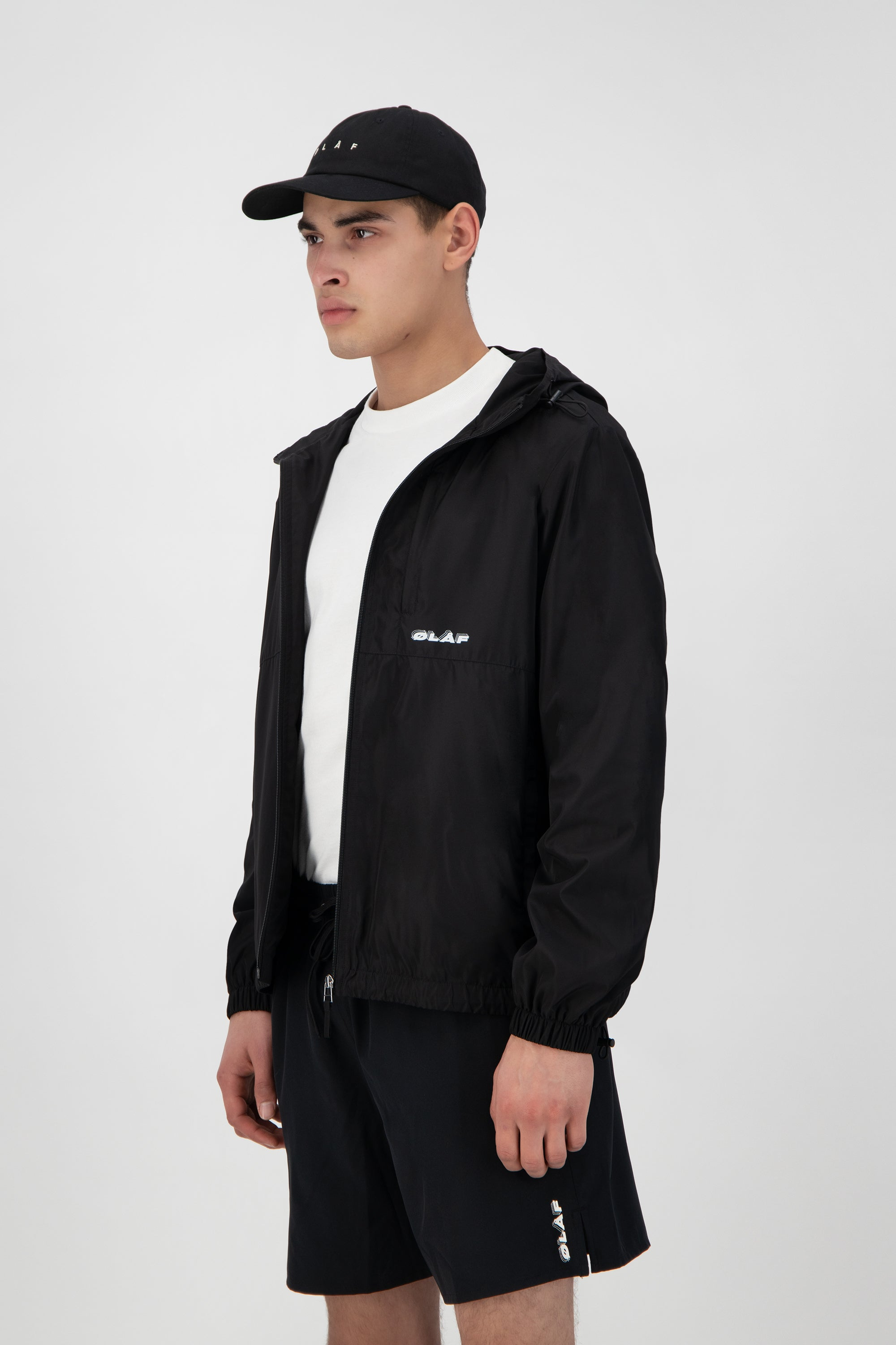 ØLÅF Zip Jacket <br>Black
