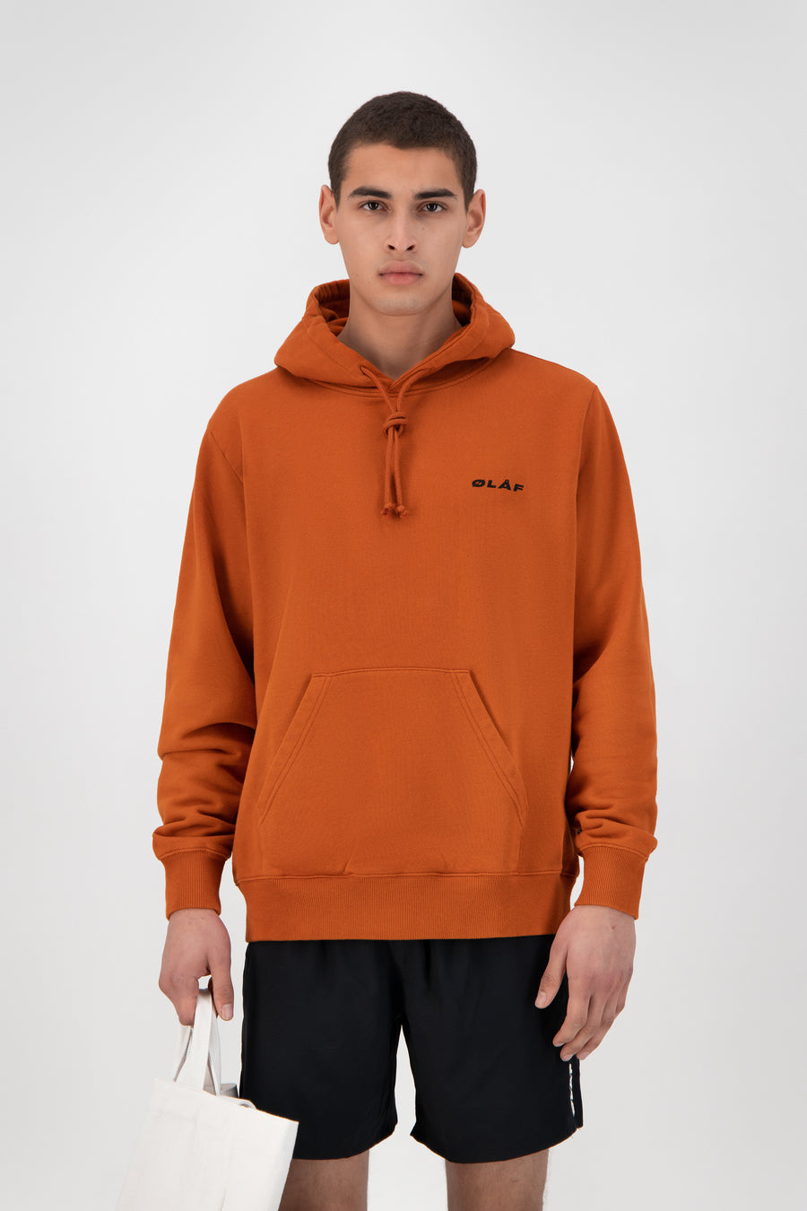 ØLÅF Uniform Hoodie - Burnt Orange