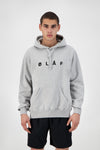 ØLÅF Chainstitch Hoodie - Heather Grey