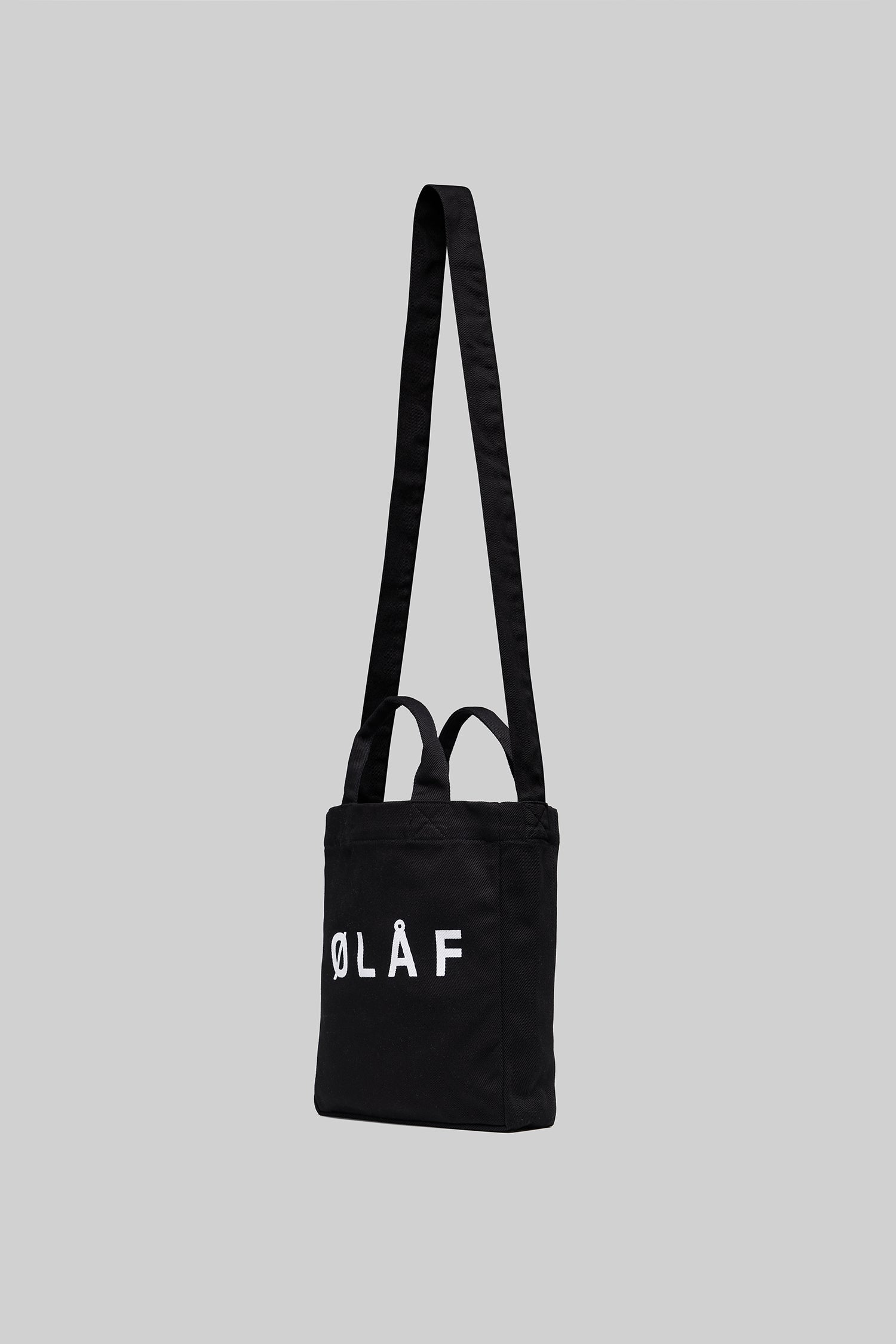 ØLÅF Mini Tote Bag <br>Black / White