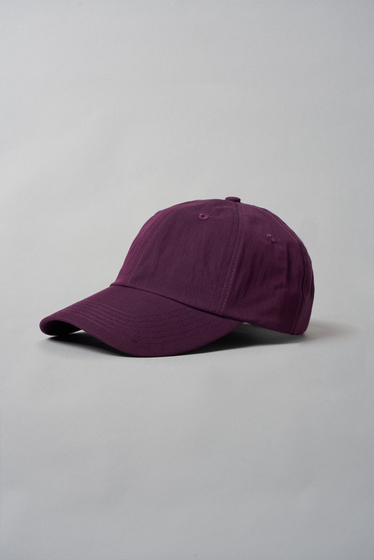 ØLÅF Cap Purple, Italian cotton nylon fabric, Branded velcro strap, One size fits all
