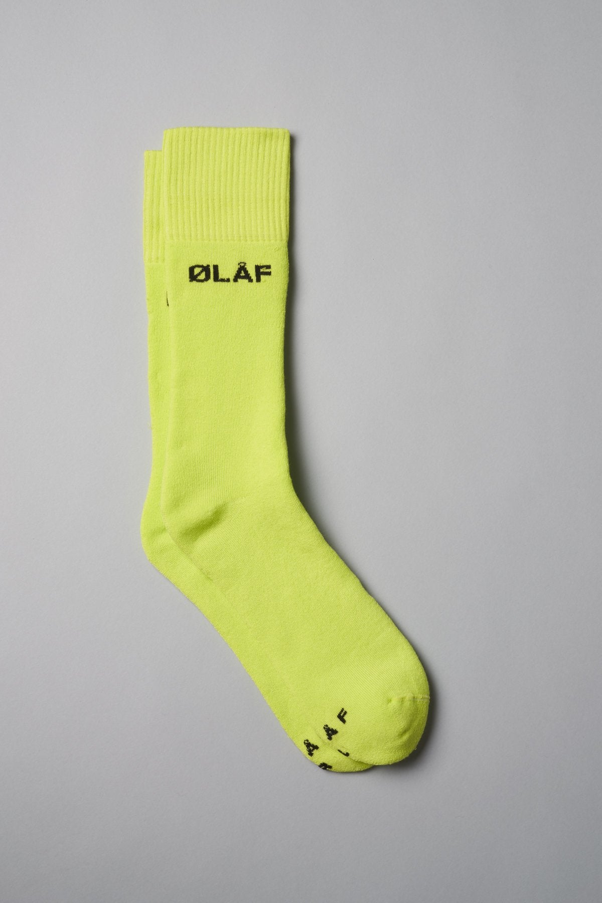 3-Pack ØLÅF Socks Purple / Neon, 75% Portuguese cotton, 23% polyamide, 2% elastane, Logo on ankle and foot, Made in Portugal
