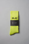 ØLÅF Socks Neon / Black, 75% cotton, 23% polyamide, 2% elastane, Logo on ankle, Made in Portugal