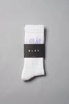 ØLÅF Triple Socks White / Purple, 75% Portuguese cotton, 23% polyamide, 2% elastane, Logo on ankle, Made in Portugal