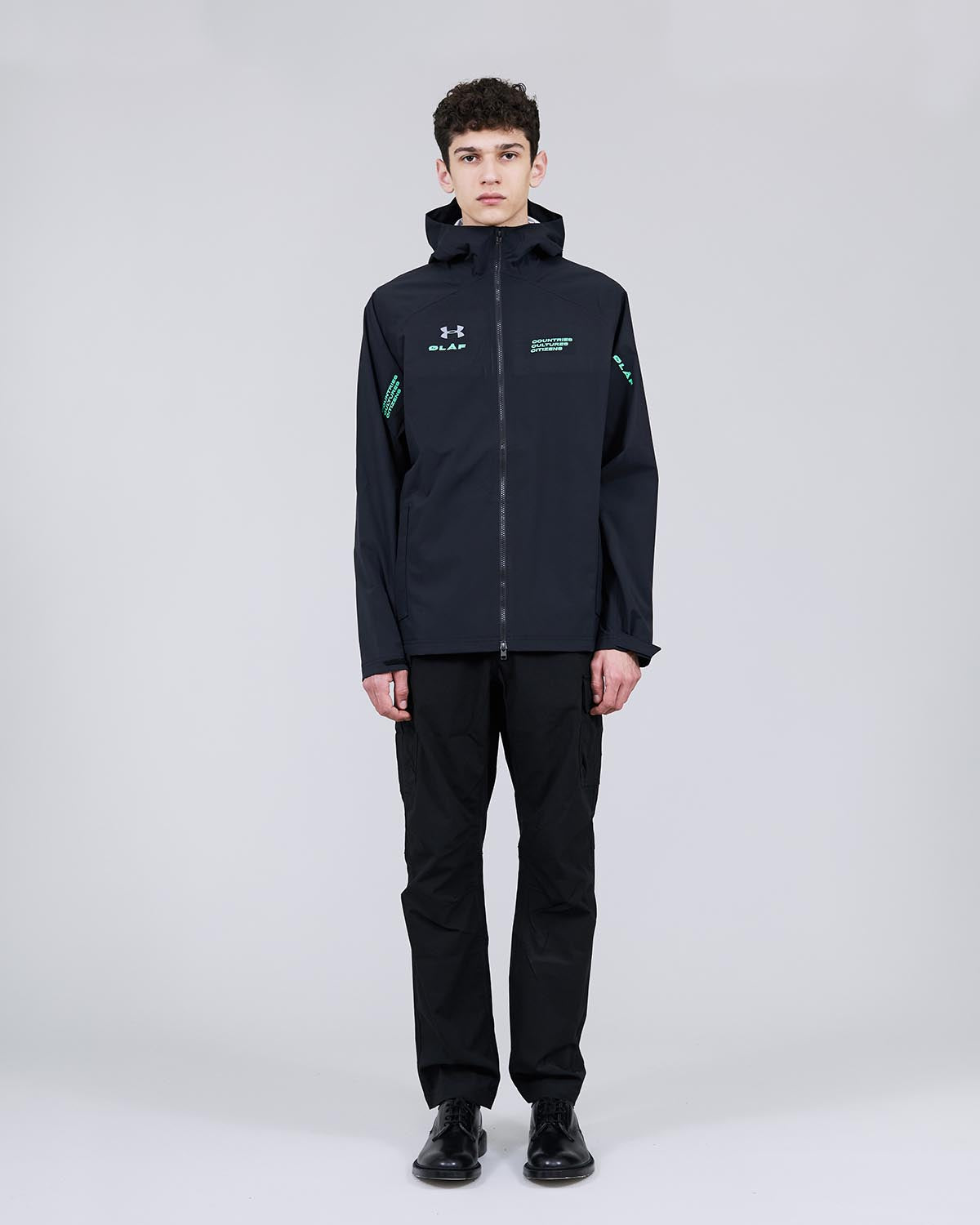 ØLÅF x UA Sports Jacket<br>Black