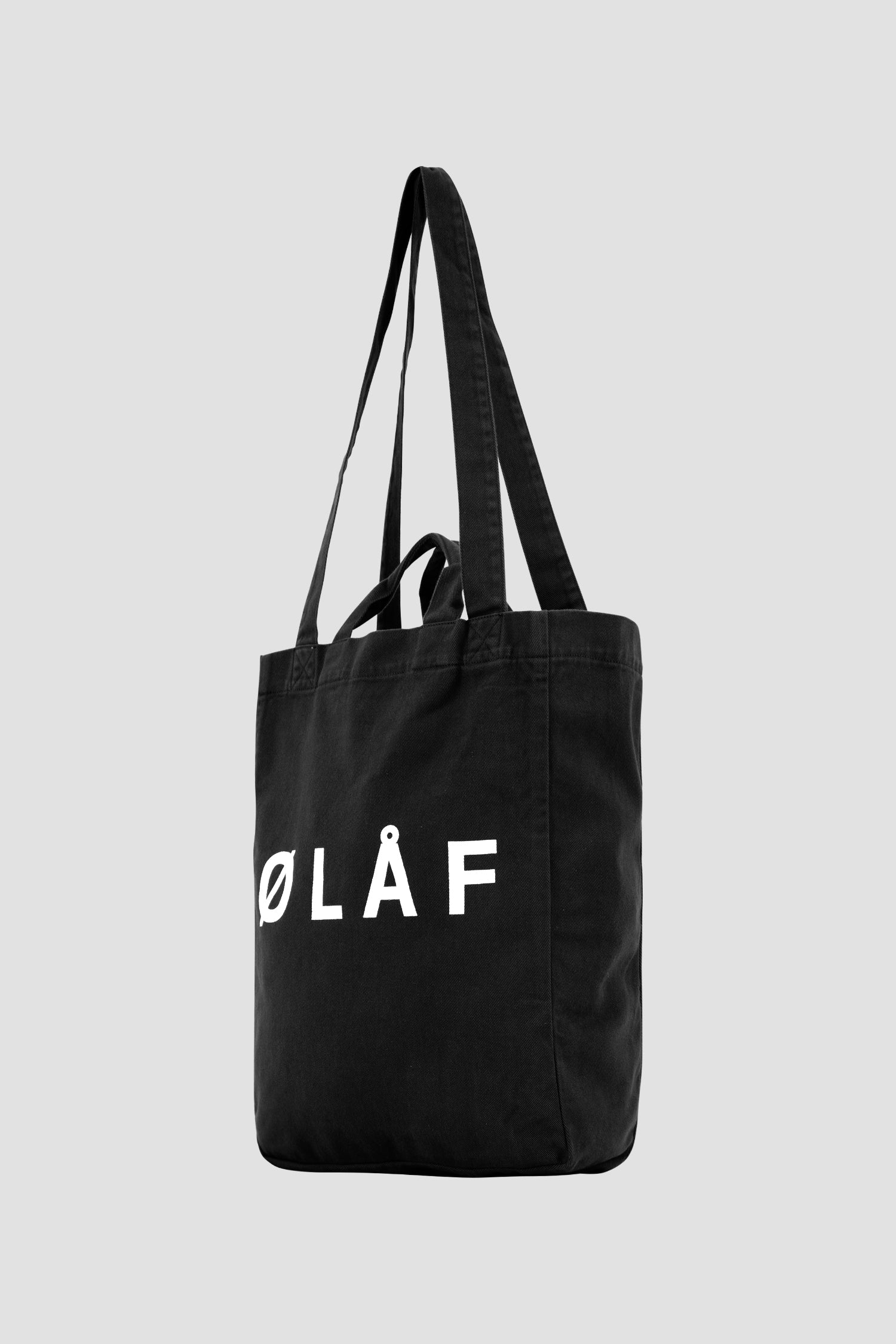 ØLÅF Tote Bag <br>Black / White