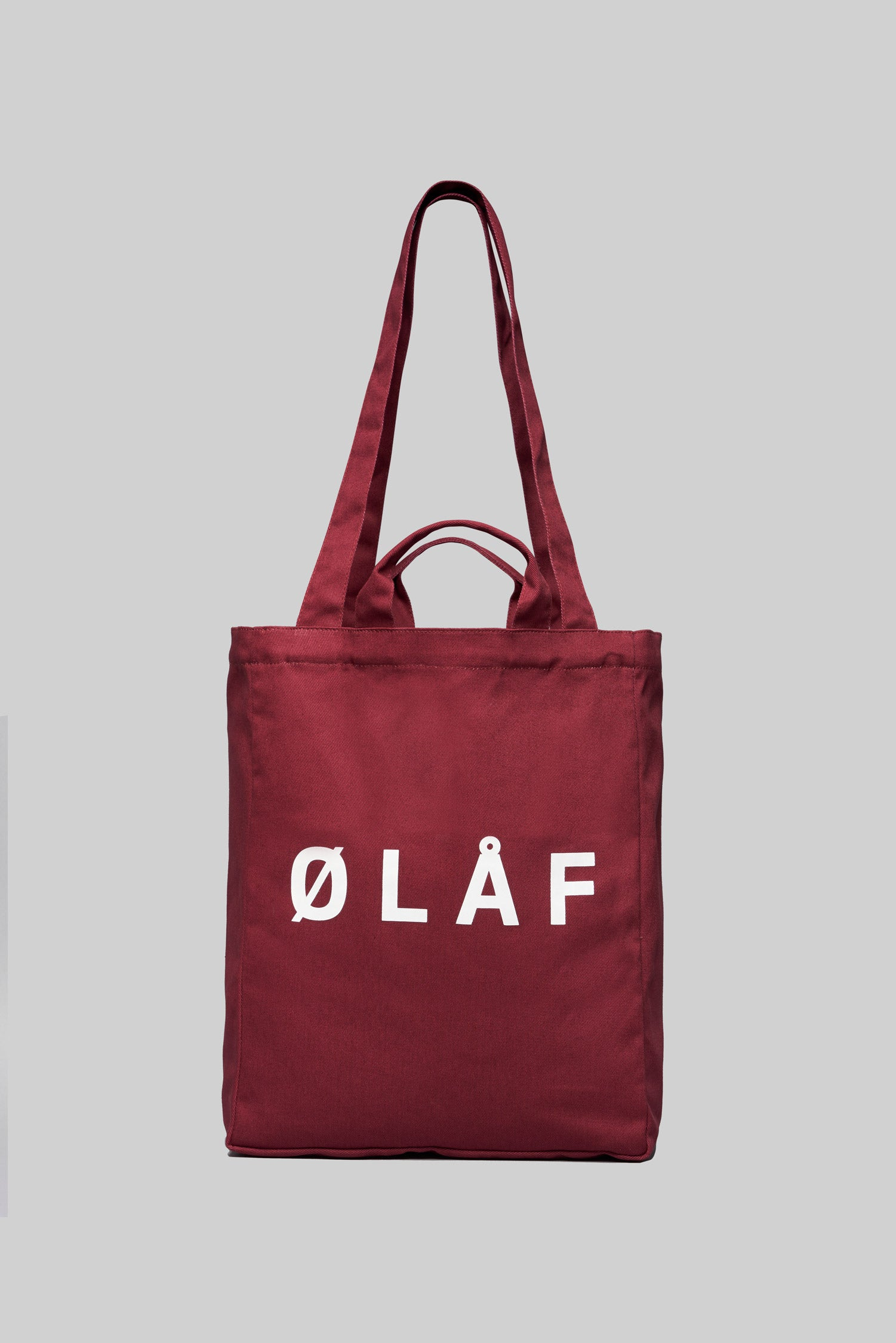 ØLÅF Tote Bag <br>Brick Red