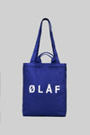 ØLÅF Tote Bag <br>Royal Blue